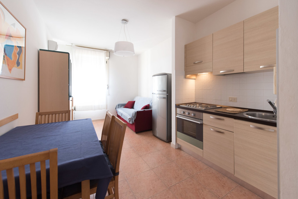 Bilocale – Two Room Apartment